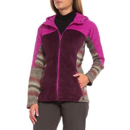 Burton Grape Seed-Starling-Agave Stripe [ak] Zulu Insulator Jacket (For Women) in Grape Seed/Starlng/Agave Stripe - Closeouts